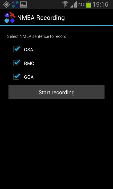 Toponavigator GPSInfo - screenshot