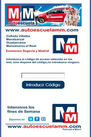 Autoescuela MM - Test Conducir