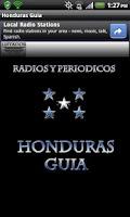 Screenshot of Honduras Guia