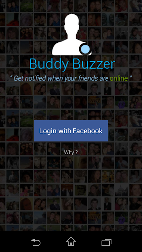 Buddybuzzer friends notifier