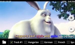 MX Player app screenshot