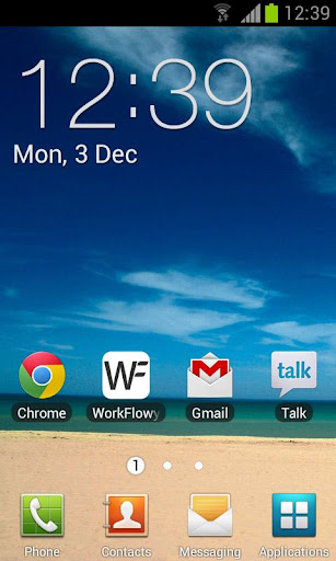 Galaxy Clock Widget Pro