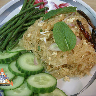Thai Vegetarian Larb Woonsen, 'Larb Woonsen Jae'