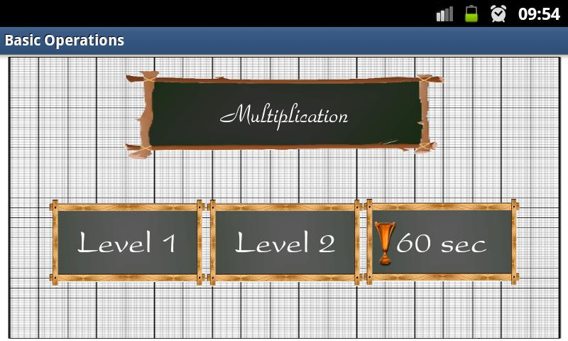 Basic Math Operations- screenshot