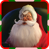 Christmas live wallpaper santa