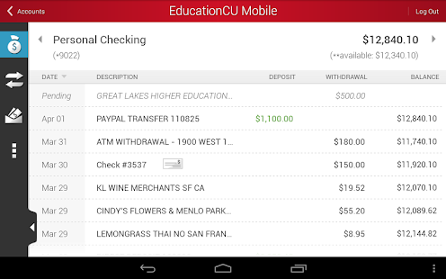 EducationCU Mobile - screenshot thumbnail