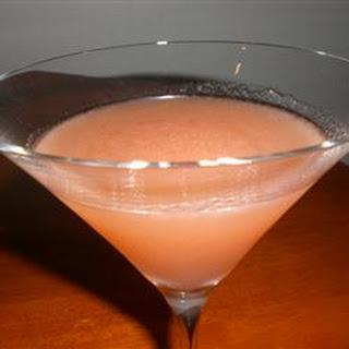 Rhubarb-Infused 'Barbtini