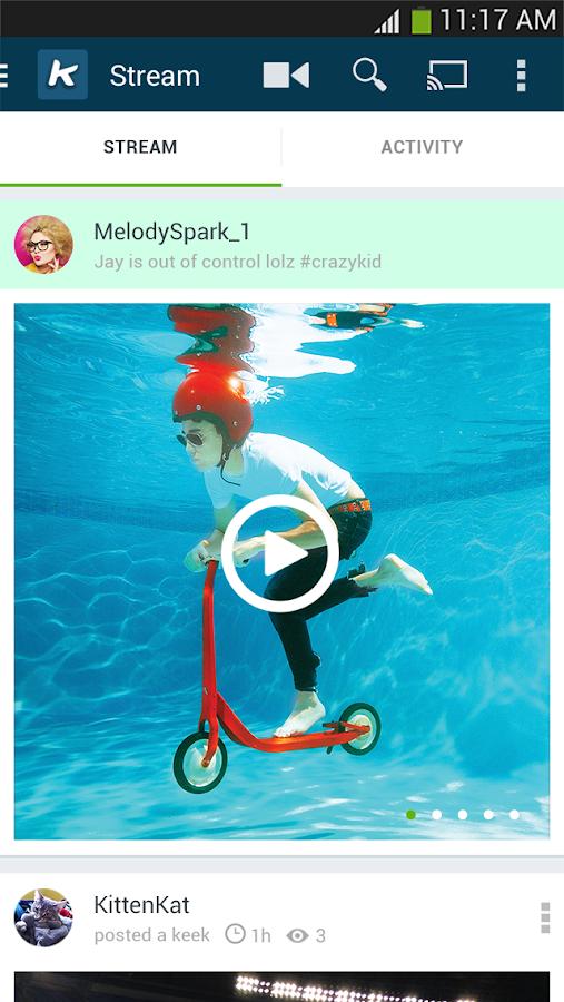 Keek - Social Video - screenshot