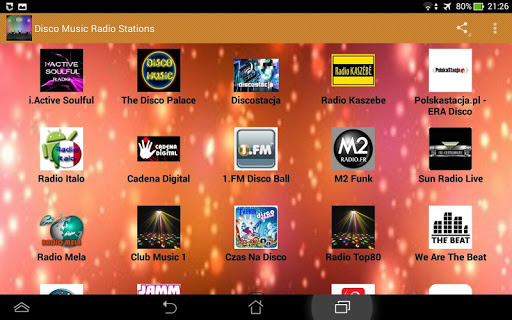 【免費娛樂App】Disco Music Radio Stations-APP點子