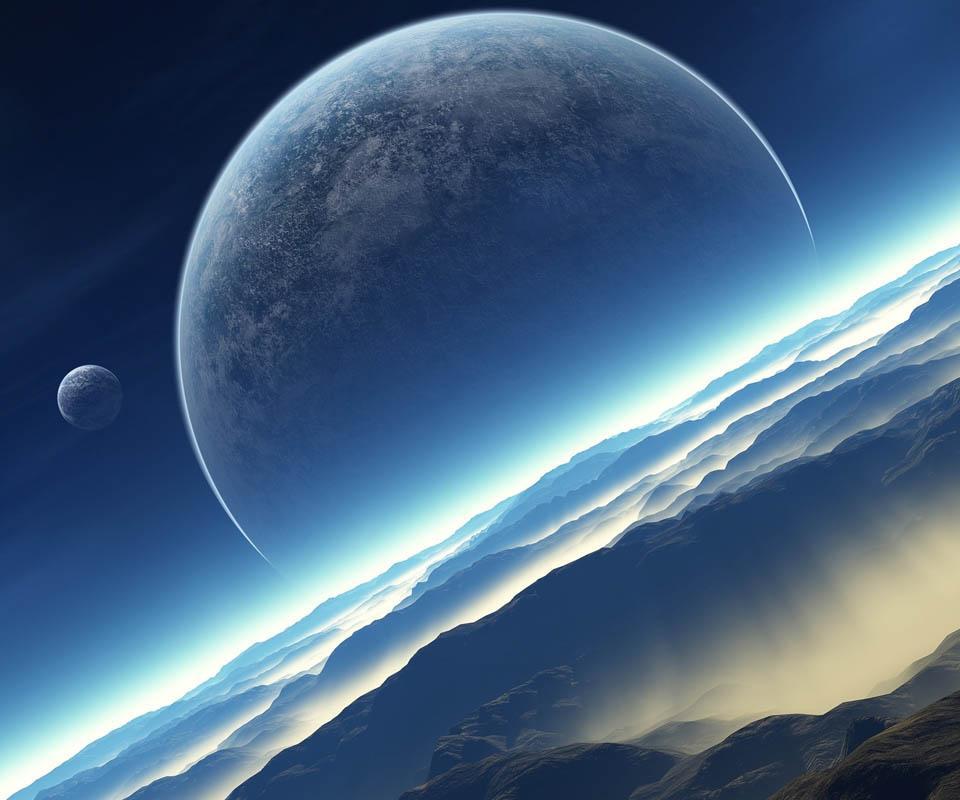 Galaxy Space Live Wallpaper Screenshot