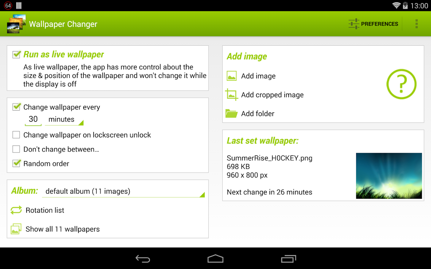 Wallpaper Changer - Android Apps on Google Play