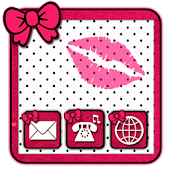 Cute XoXo GO theme by BBFreaks