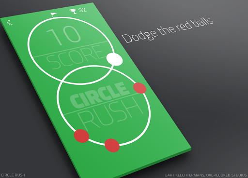 【免費街機App】Circle Rush-APP點子
