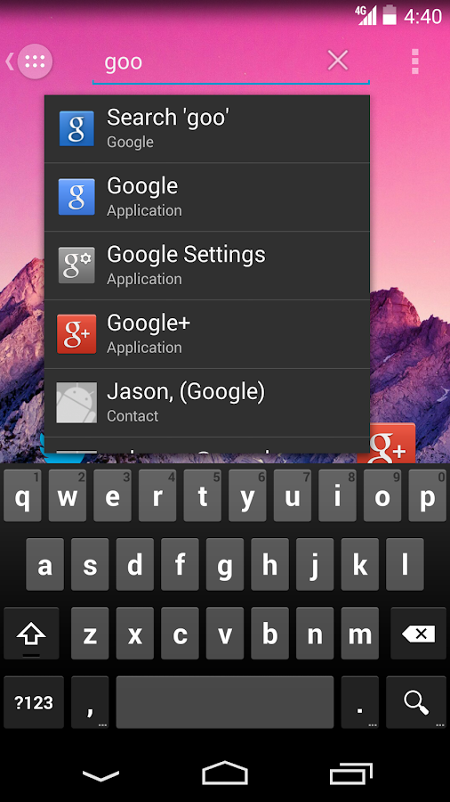 Action Launcher - screenshot