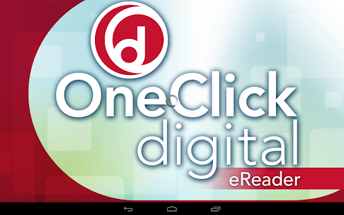 OneClickdigital eReader - screenshot thumbnail
