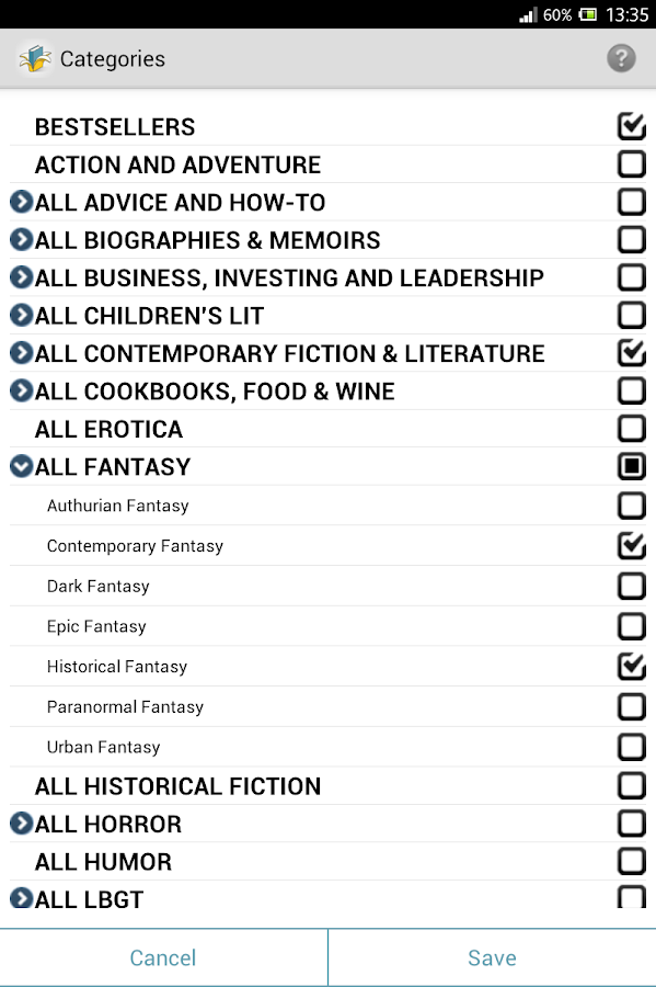BookGorilla: Kindle Book Alert- screenshot
