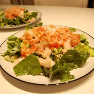 Herbal Shrimp Delight with Beer Sauce