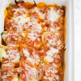 Lasagna Stuffed Shells.