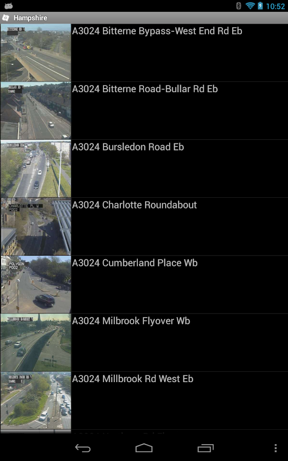 TrafficEye - screenshot