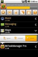 Screenshot of BKTaskManager