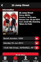Screenshot of Event Cinemas