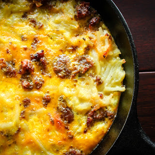 Hash Brown and Sausage Breakfast Casserole