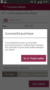 Train Tickets- screenshot thumbnail
