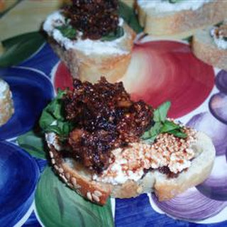 Fig and Ricotta Crostini