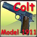 Colt pistol Model 1911 icon