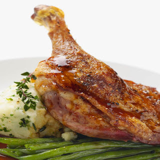 Duck Confit With Sauce Recipes.