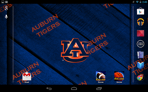 Auburn Tigers Live Wallpaper- screenshot thumbnail