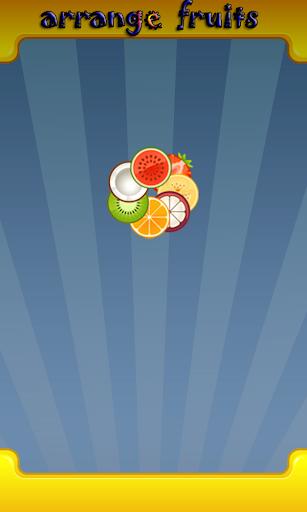 Arrange Fruits