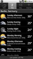 Screenshot of Palmary Weather Premium