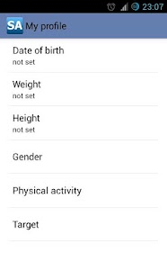 Calorie Counter Slim Assistant - screenshot thumbnail