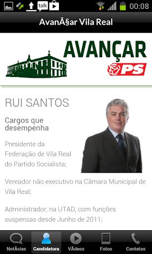 Avançar Vila Real