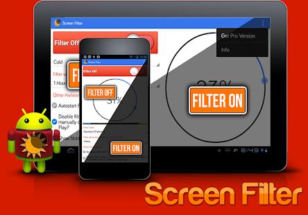 Screen Filter : Low Brightness