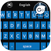 GO Keyboard W8 Blue Theme