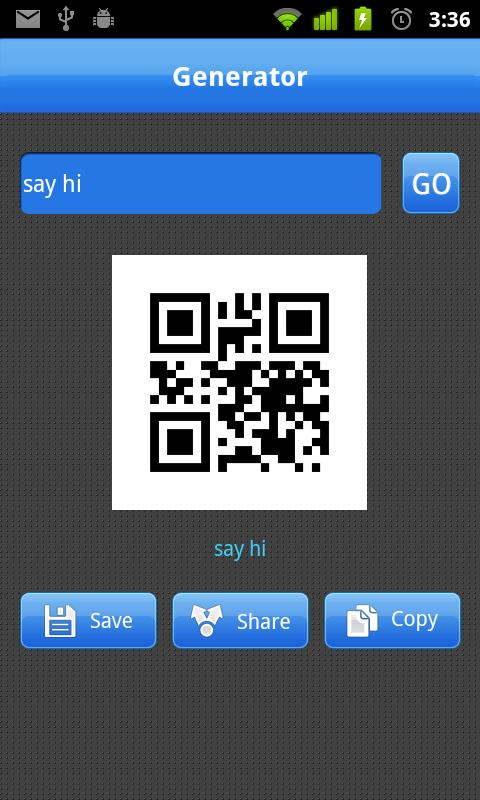 QRcode Scanner - screenshot