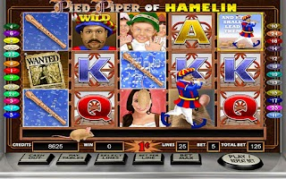 Screenshot of Pied Piper HD Slot Machine