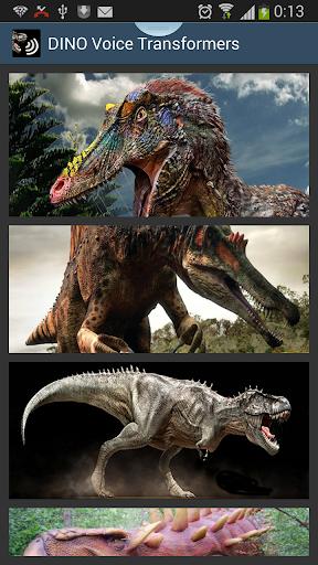 Dino Voices Transformer