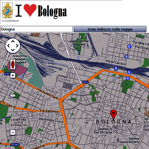 Bologna map LOGO-APP點子