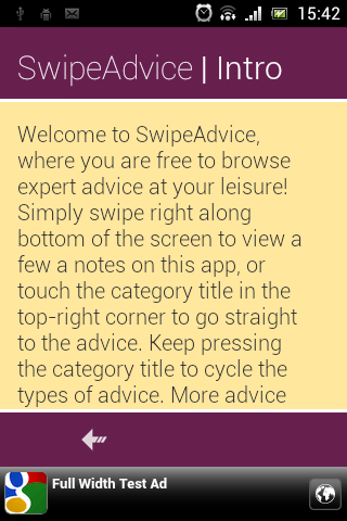 Swipe Advice Tips Ideas