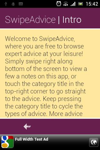 Swipe Advice Tips Ideas
