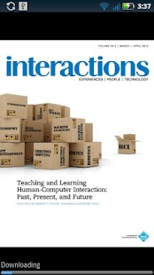 ACM interactions- screenshot thumbnail