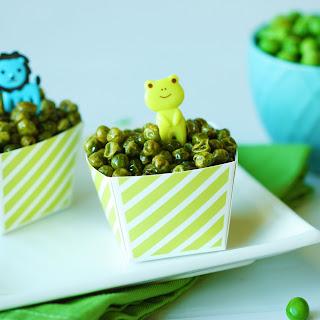 Crunchy Roasted Green Peas.