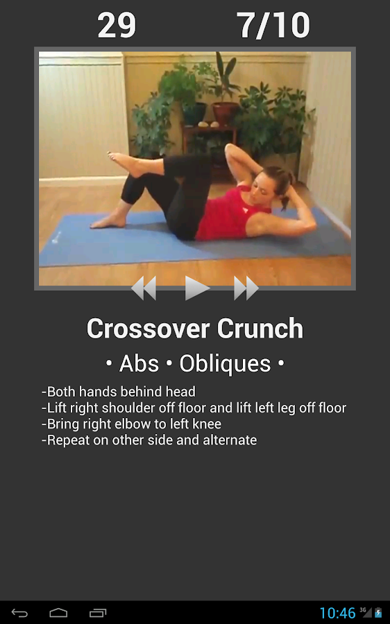 Daily Ab Workout- screenshot