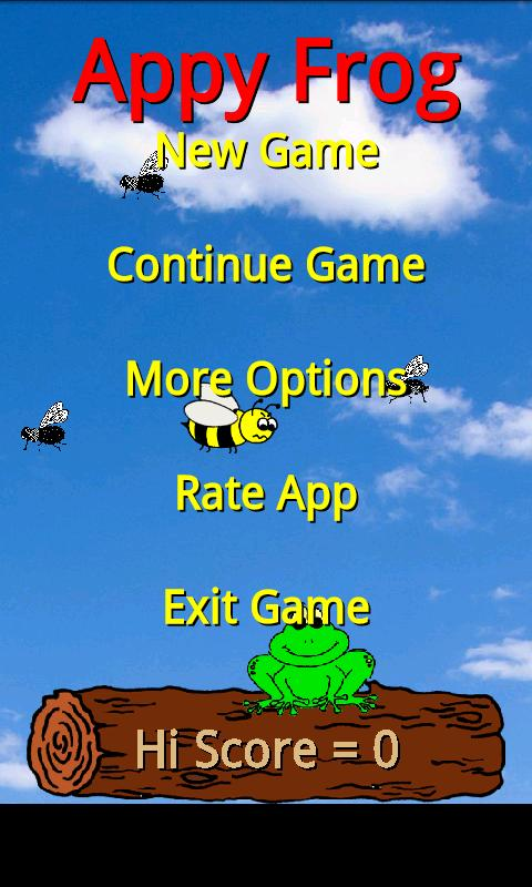 Appy Frog- screenshot