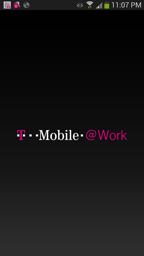 T-Mobile @Work - screenshot