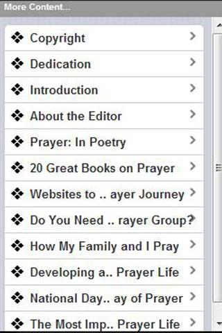 The Prayer Motivator Bible - screenshot
