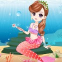 Cute Mermaid Princess Dress up icon